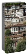 Ottoman Architecture View In Historic Berat Old Town Albania Portable Battery Charger