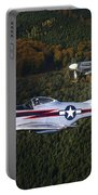 P-51 Cavalier Mustang With Supermarine Portable Battery Charger