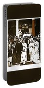 Pancho Villa's Wedding To Luz Corral On May 29 1911-2013 Portable Battery Charger