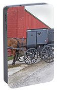 Amish Parking Lot Portable Battery Charger