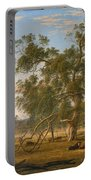 Patterdale Landscape With Cattle Portable Battery Charger