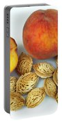 Peaches And Pits Portable Battery Charger