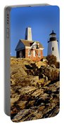 Pemaquid Point Light Portable Battery Charger