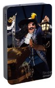 Pirate With A Treasure Chest Portable Battery Charger