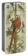 Plants And Animals Portable Battery Charger