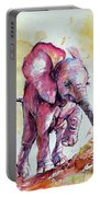 Playing Elephant Baby Portable Battery Charger