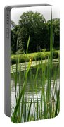 Pond At Beaver Island State Park In New York Portable Battery Charger
