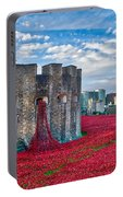 Poppies At The Tower Of London Portable Battery Charger