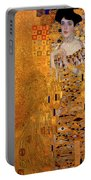 Portrait Of Adele Bloch-bauer Portable Battery Charger