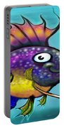 Rainbow Fish Portable Battery Charger
