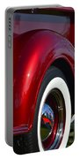 Red Chevy Pickup Fender Portable Battery Charger