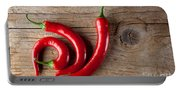 Red Chili Pepper Portable Battery Charger