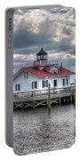 Roanoke Marshes Lighthouse, Manteo, North Carolina Portable Battery Charger