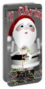 Robo-x9 Wishes A Merry Christmas Portable Battery Charger