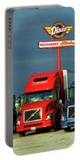 Route 66 - Dixie Truckers Home Portable Battery Charger