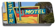Route 66 - Western Motel Portable Battery Charger