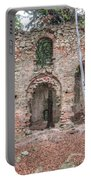 Ruins Of The Baroque Chapel Of Saint Mary Magdalene Portable Battery Charger