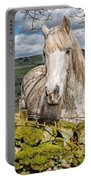 Rustic Horse Portable Battery Charger