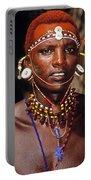 Samburu Warrior Portable Battery Charger