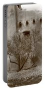 Santa Fe - Adobe Building And Tree Portable Battery Charger