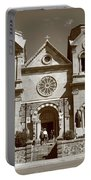 Santa Fe - Basilica Of St. Francis Of Assisi Portable Battery Charger