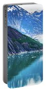 Sawyer Glacier At Tracy Arm Fjord In Alaska Panhandle Portable Battery Charger