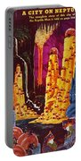 Science Fiction Magazine Portable Battery Charger