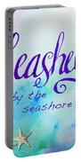 Seashells By Jan Marvin Portable Battery Charger