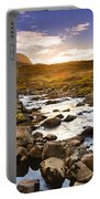 Seydisfjordur Fjord Valley Portable Battery Charger