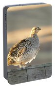Sharp Tailed Grouse Portable Battery Charger