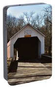 Sheards Mill Covered Bridge - Bucks County Pa Portable Battery Charger