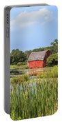 Sinking Red Barn #6 Portable Battery Charger