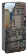 Skyline Of Manhattan - New York City Portable Battery Charger