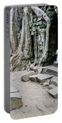 Souvenir Trinket Stall Vendor In Angkor Wat Famous Temple Cambod Portable Battery Charger
