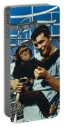 Space: Chimpanzee, 1961 Portable Battery Charger