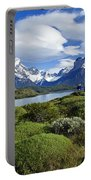 Springtime In Patagonia Portable Battery Charger