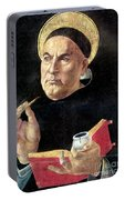 St. Thomas Aquinas Portable Battery Charger