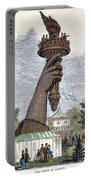 Statue Of Liberty, 1876 Portable Battery Charger