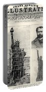 Statue Of Liberty, 1885 Portable Battery Charger