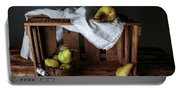 Still-life With Pears Portable Battery Charger