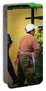 Street Vendor - Antigua Guatemala Portable Battery Charger