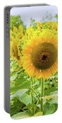 Sunflowers Field Portable Battery Charger