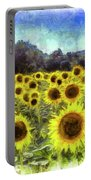 Sunflowers Van Gogh Portable Battery Charger