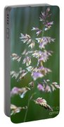 Tall Grass Stem Close-up  Portable Battery Charger