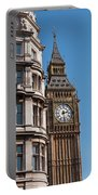 The Clock Tower In London Portable Battery Charger