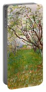 The Flowering Orchard Portable Battery Charger