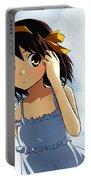 The Melancholy Of Haruhi Suzumiya Portable Battery Charger