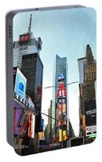 Times Square New York City Portable Battery Charger