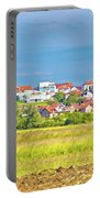 Town Of Vrbovec Landscape And Architecture Portable Battery Charger