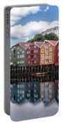 Trondheim Coastal View Portable Battery Charger